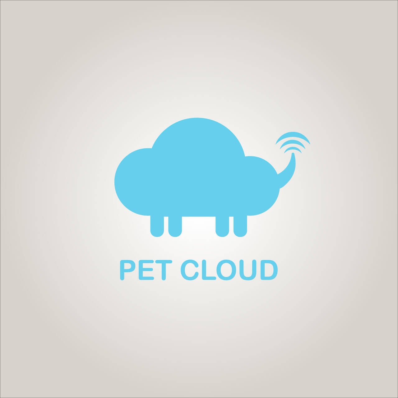 Diseño de logotipo Pet Cloud